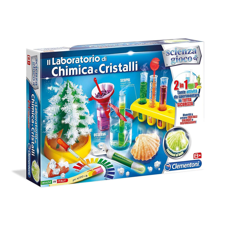 Scienza e Gioco 19126 Cristalli giganti Clementoni