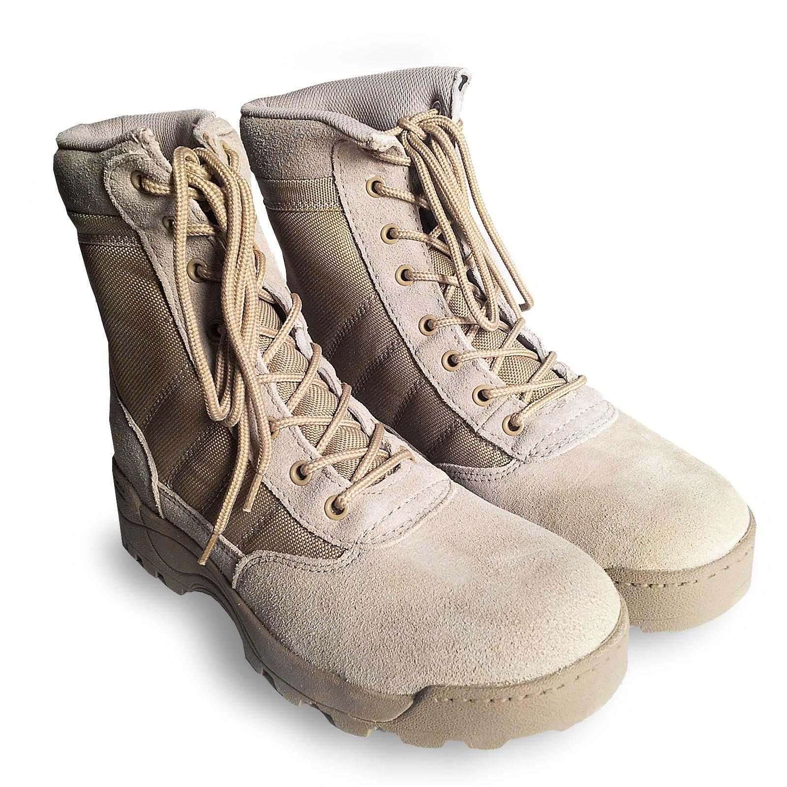 Anfibi Stivali Militari Scarpe Scarponi per Softair Caccia Tan Taglia 41  Royal 33f1bfa874b