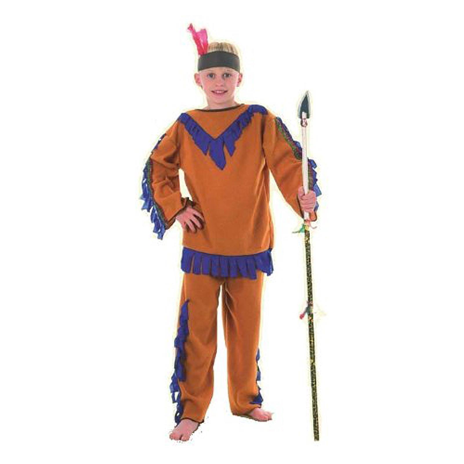 Da 7 Indiano Vestito Bambini Carnevale Per Anni Abito M Taglia 10 QdsthrC