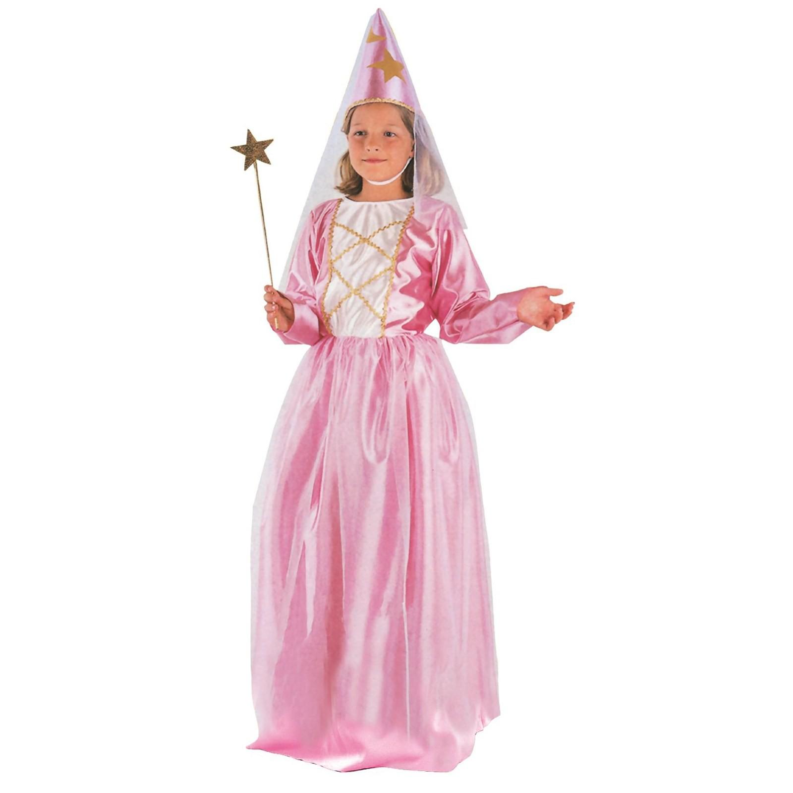 spesso Costume di Carnevale da Principessa Fata Fatina Vestito Bambina 7  NL03