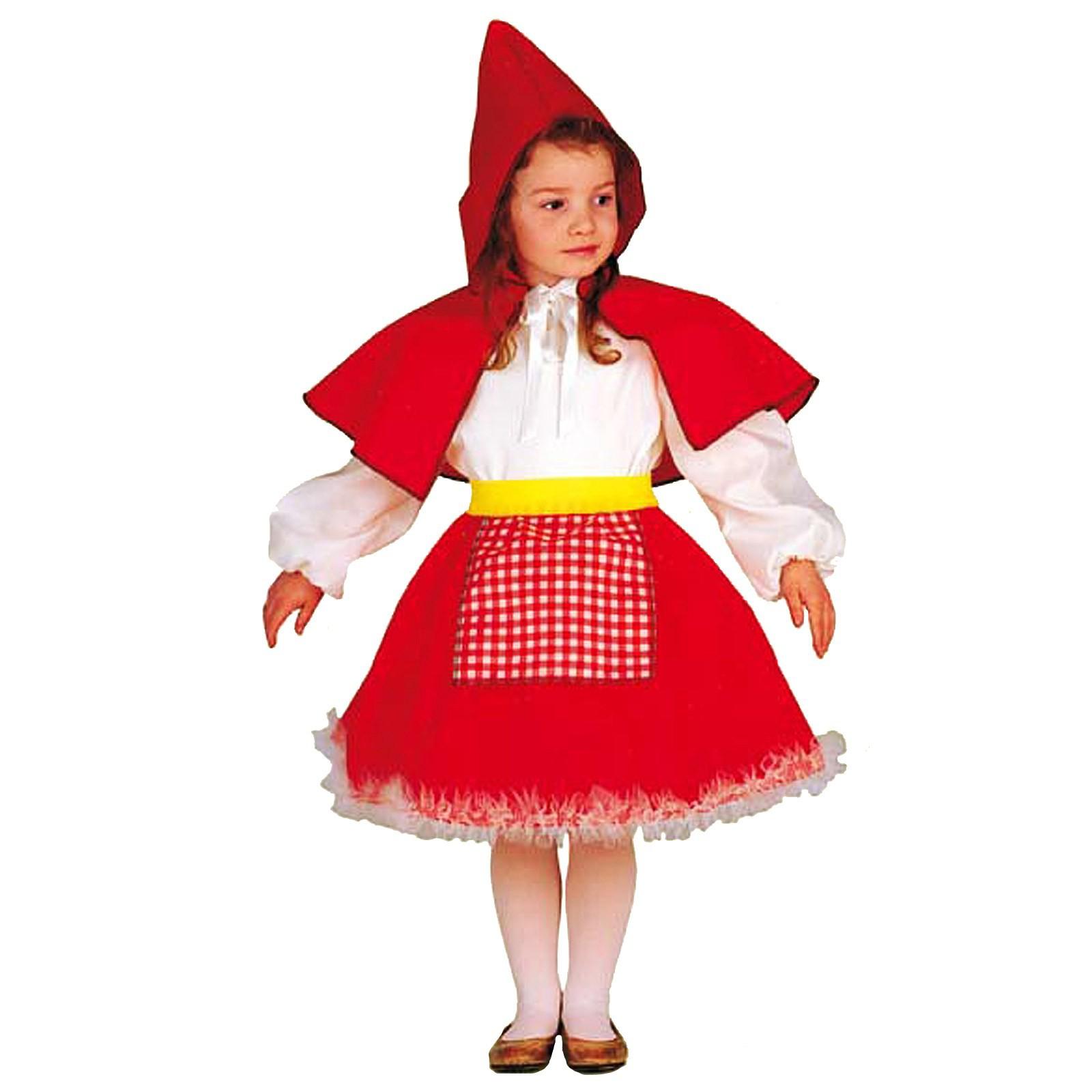 united kingdom vast selection dirt cheap Costume di Carnevale per Bambina Vestito Cappuccetto Rosso 2 ...
