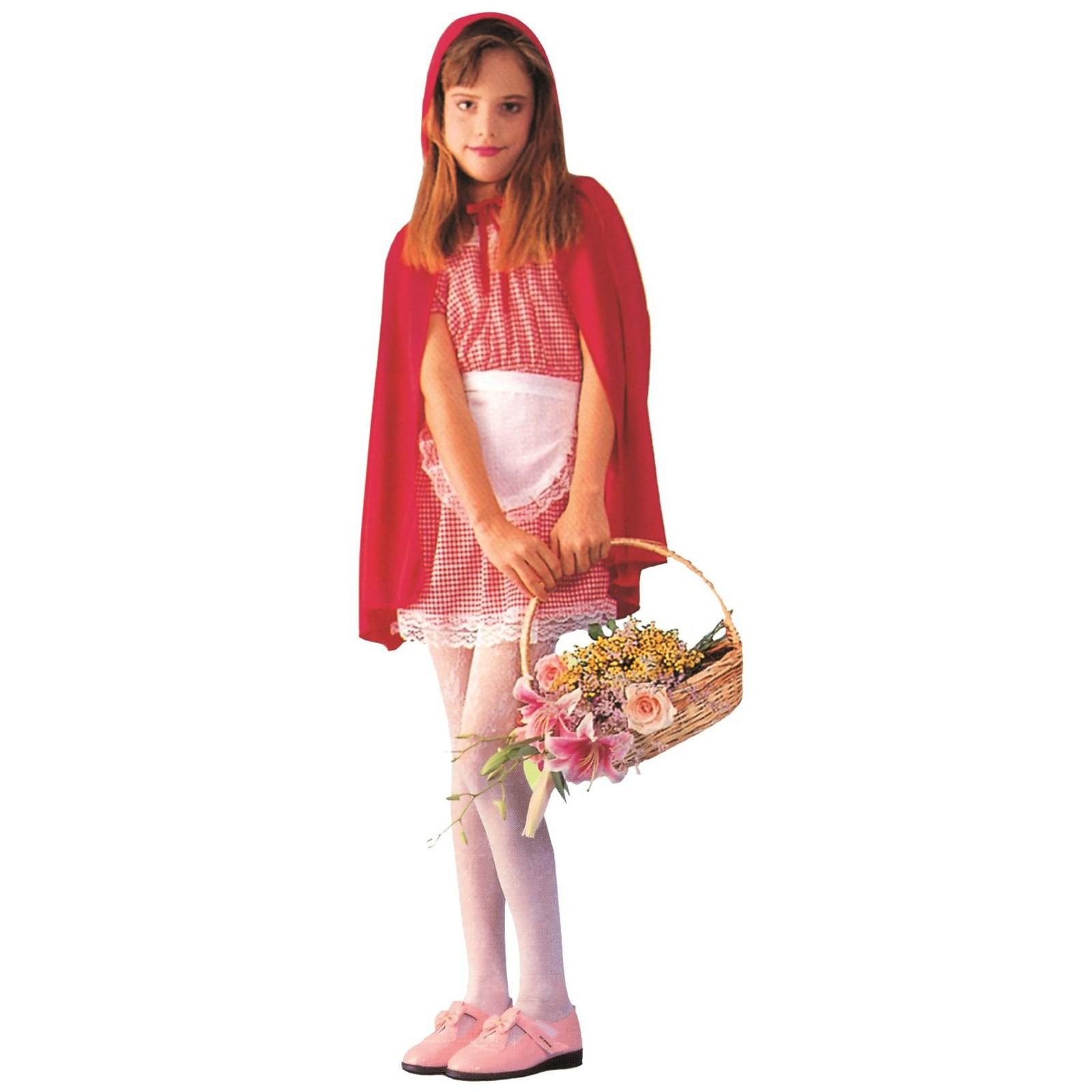 big sale 44513 ffd3a Costume di Carnevale Vestito Cappuccetto Rosso Bambina ...