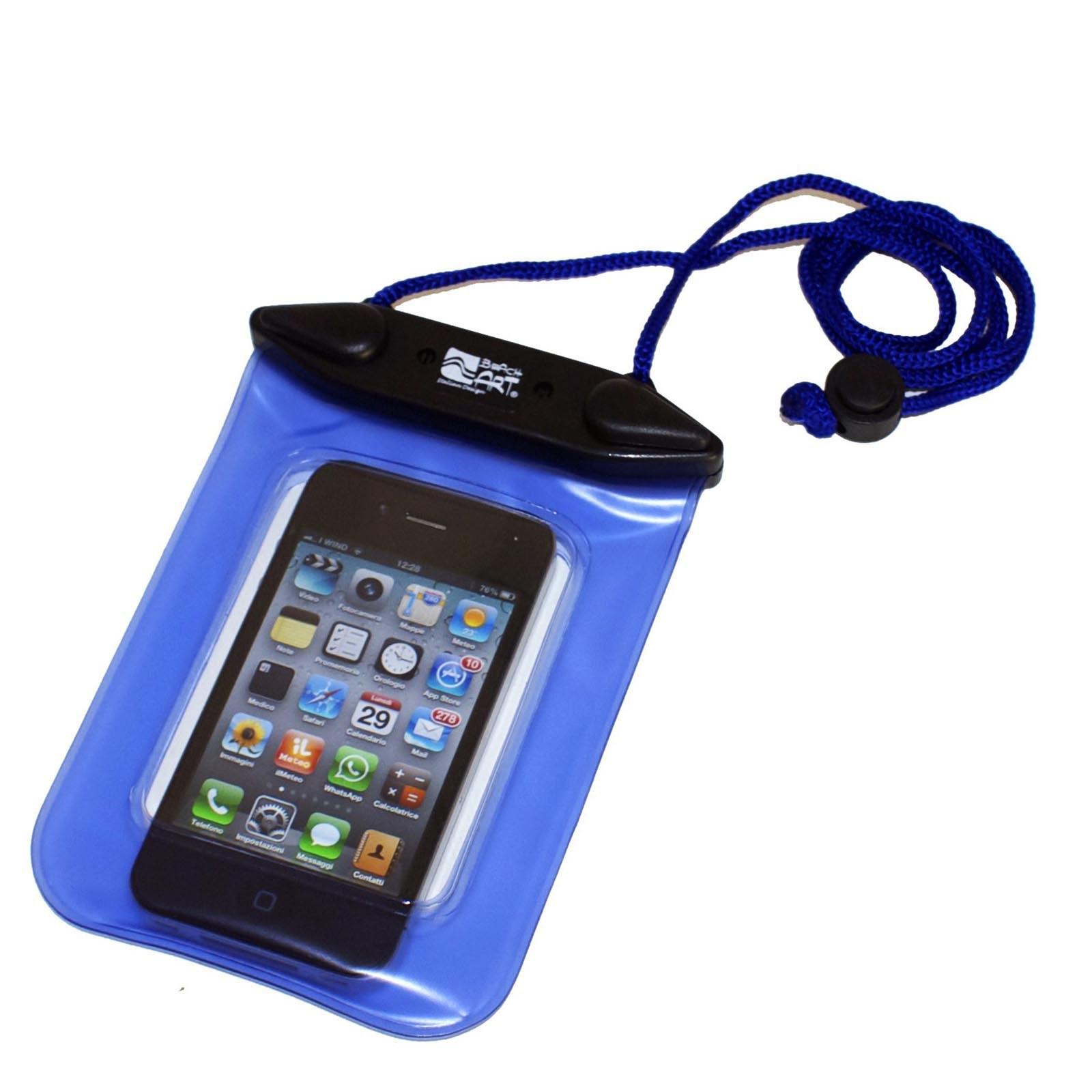 nuovo di zecca 03271 2aca9 CUSTODIA IMPERMEABILE STAGNA PER CELLULARE IPHONE PROTEZIONE ...