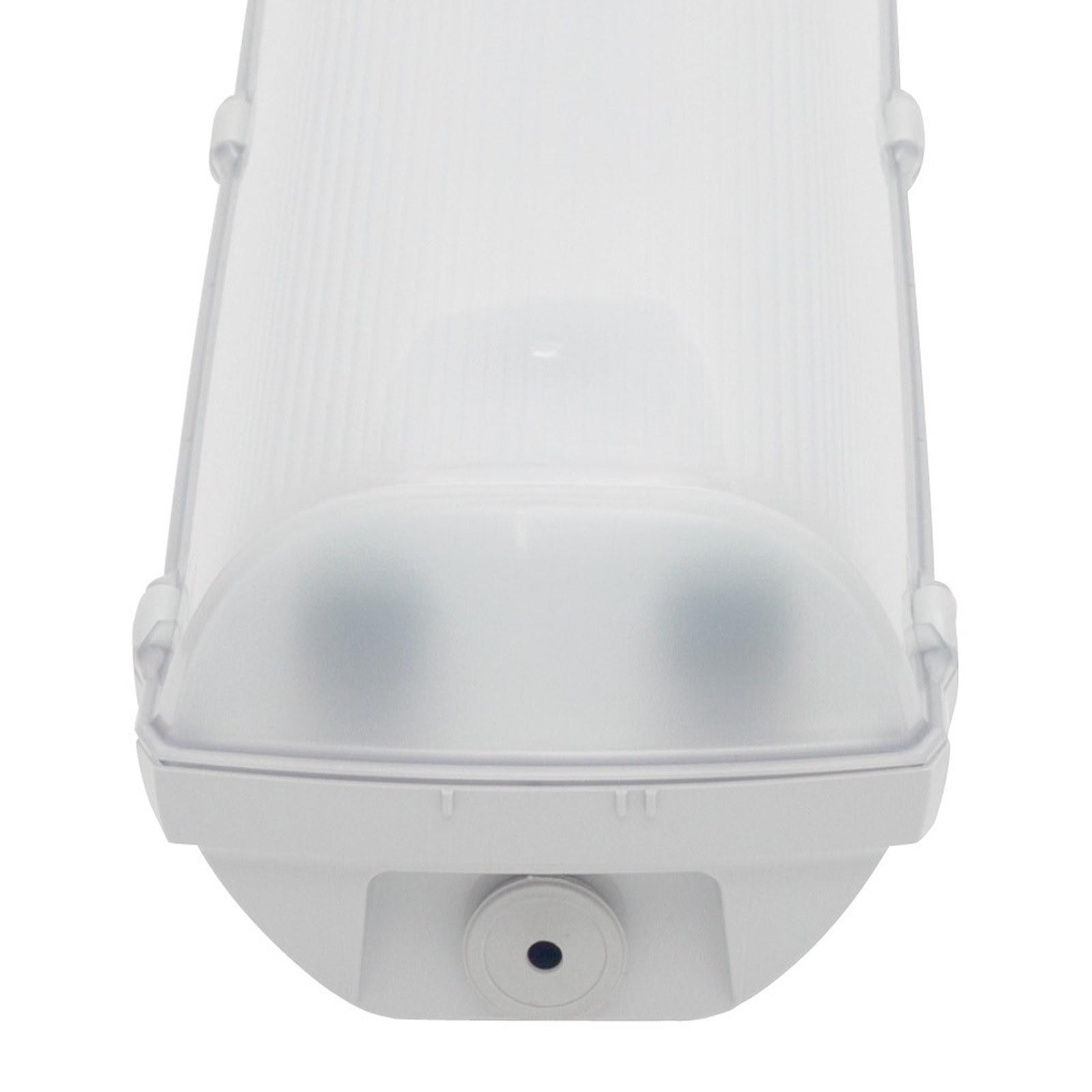 Plafoniera LED Doppia 2 Neon Soffitto 150 cm Lampada Stagna da ...